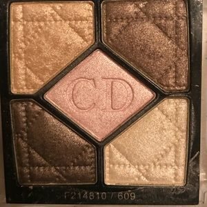 Christian Dior mini shimmer quad